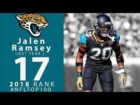 #17: Jalen Ramsey (CB, Jaguars) | Top 100 Players of 2018 | NFL