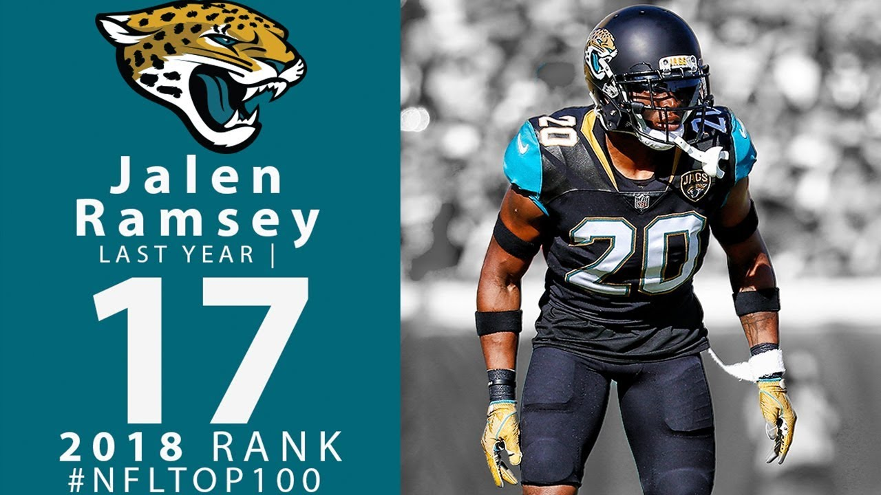 best loved 7a541 16b9d #17: Jalen Ramsey (CB, Jaguars) | Top 100 Players of 2018 | NFL
