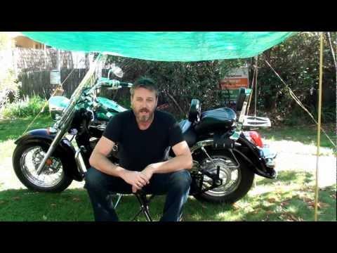 Motorcycle Camping Tarp