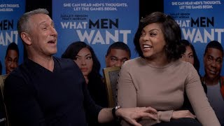 Taraji P. Henson & Adam Shankman Discuss Their New Movie, What Men Want & More W/ Angie Ange