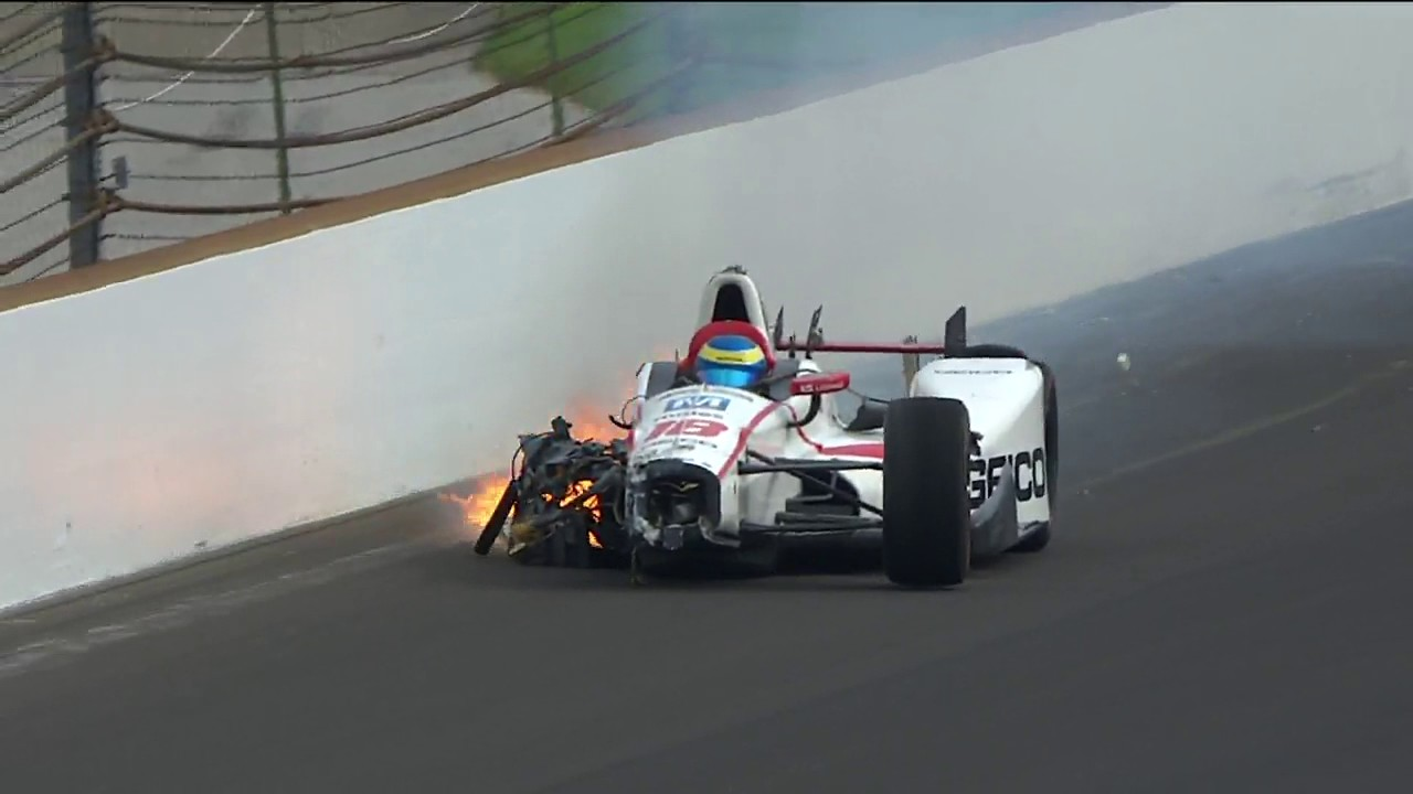 Sebastien Bourdais recovering from pelvis surgery after Indy 500 qualifying crash