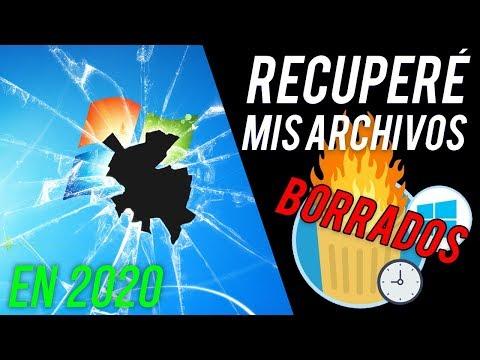 COMO RECUPERAR ARCHIVOS BORRADOS 2020 | Fotos, Vídeos, Discos Duros, USB, SD [Nuevo Método 2020]