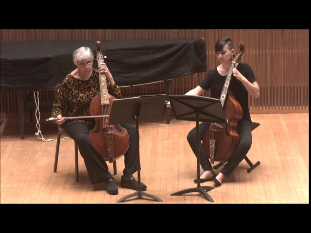 """Le Nymphe di Rheno,"" Duets for Two Viols by Johann Schenck"
