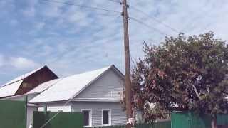 Происшествие на дороге - Провод электропередач упал на машину(Провод электро передач оборвался и упал прямо на машину !!! Хорошо что не на мою!!!, 2013-11-15T14:05:31.000Z)