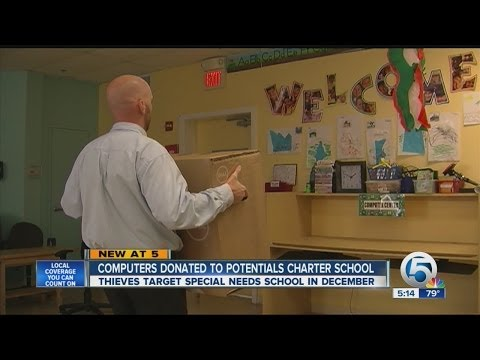 Computers donated to Potentials Charter School