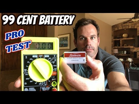 Cheap Batteries Vs Expensive - Are 99 Cent Batteries Good Enough?
