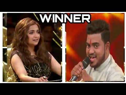 Hemant brijwasi winning song sanware || rising star season . हेमन्त बृजवासी ।|