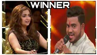 Hemant brijwasi winning song sanware || rising star season . हेमन्त बृजवासी ।|
