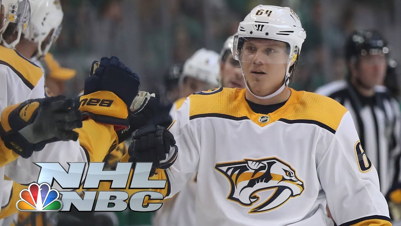 NHL Stanley Cup Playoffs 2019: Predators vs. Stars | Game 3 Highlights | NBC Sports