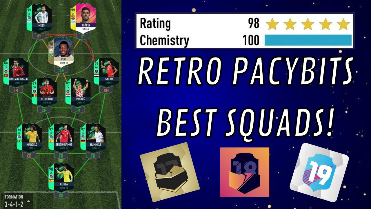 MY BEST SQUAD FROM EVERY PACYBITS *198*- Pacybits 17, 18, 19 & 20