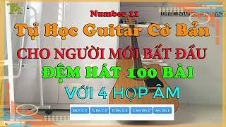 [ Tự Học Guitar ] CHỈ 4 HỢP ÂM - ĐỆM CẢ TRĂM BÀI HÁT 2020 l AT Channel
