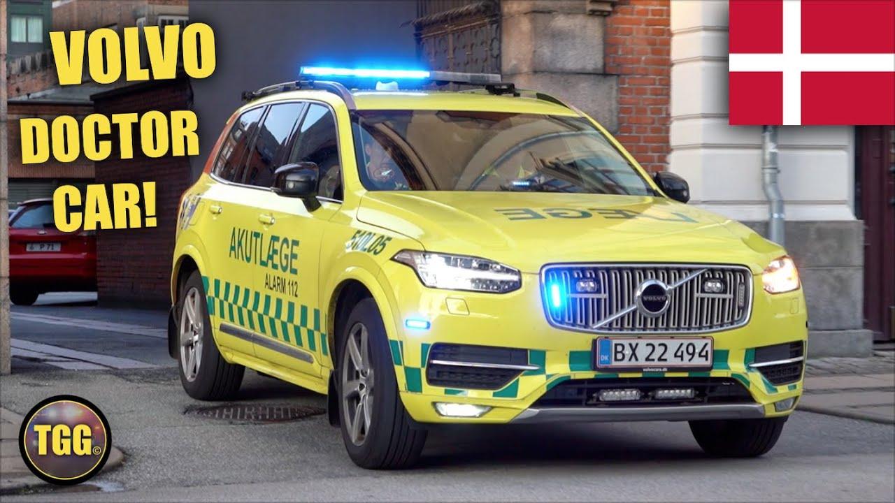 [Copenhagen] NEW Volvo Emergency Doctor Cars Responding!