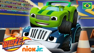 O melhor de Crusher e Pickle - parte 3 | Blaze and the Monster Machines