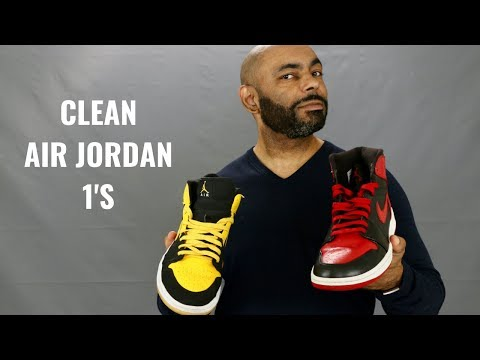 How To Keep Your Air Jordan 1's Looking Fresh And Clean
