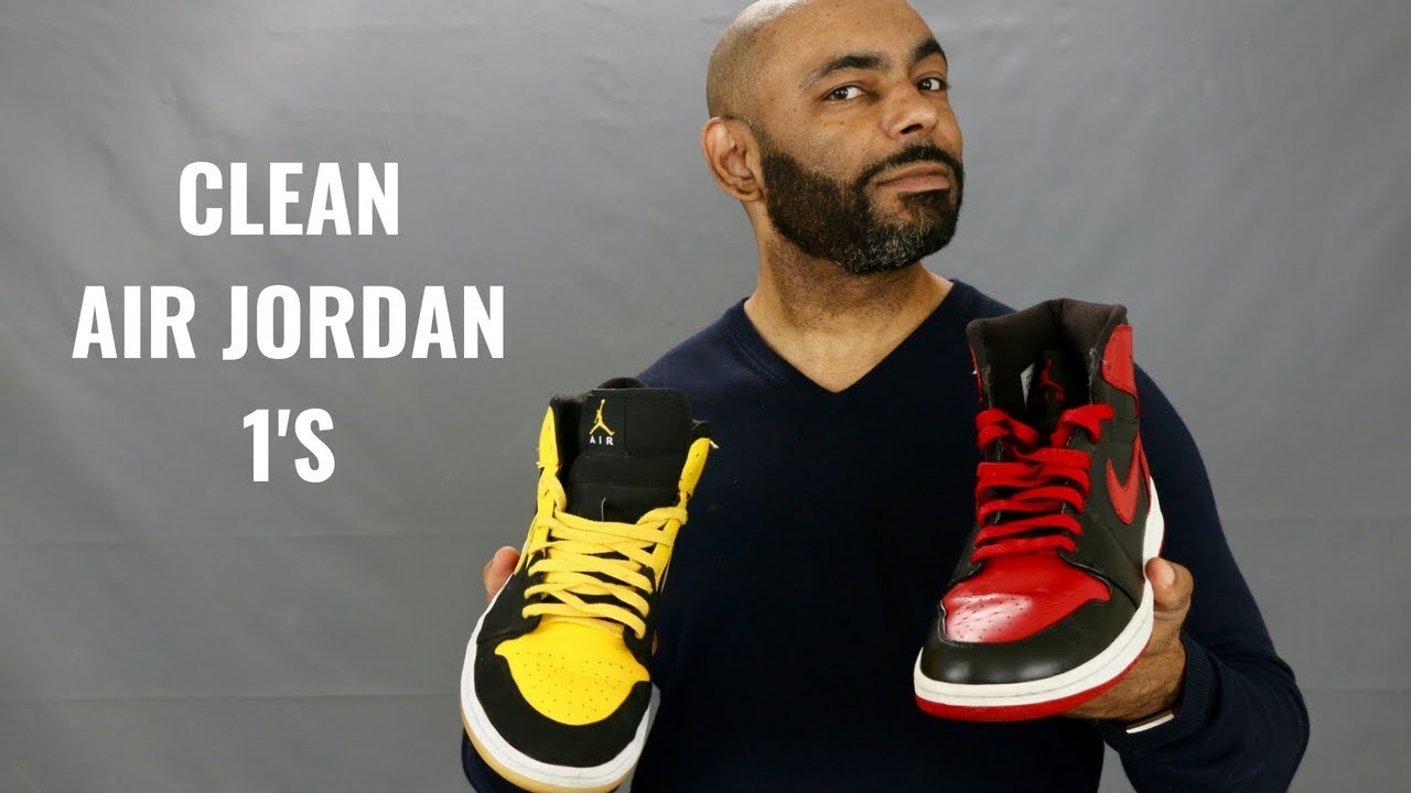 b46d2f9e497d25 How To Keep Your Air Jordan 1 s Looking Fresh And Clean - YouTube