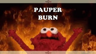 Pauper - Burn Vs UR Blitz - Magic Online