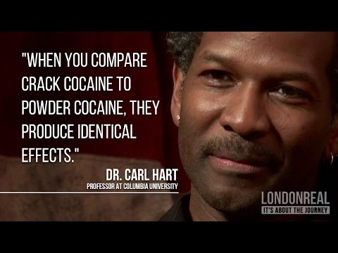 Dr. Carl Hart on Cocaine vs Crack