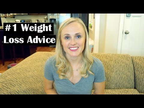 My #1 Weight Loss Advice // by a registered dietitian