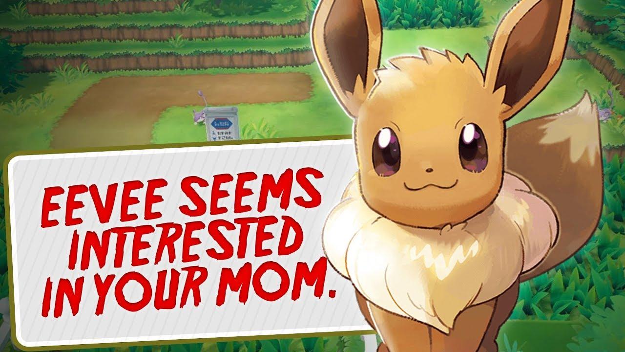 IT'S THE MEME, SEE? - Pokémon: Let's Go, Eevee! - YouTube
