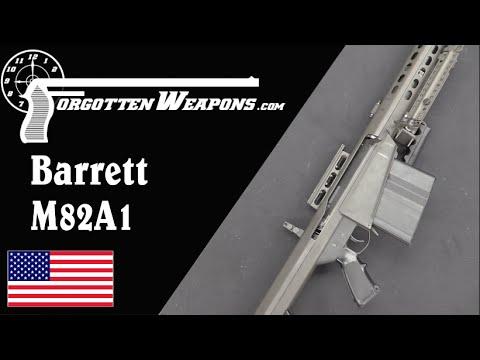 Light Fifty: the Barrett M82A1
