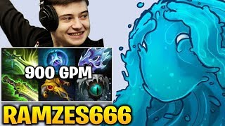 Ramzes666 Morphling 900 GPM and 600 Last Hit in 50 Minutes