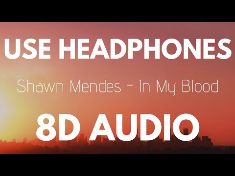 Shawn Mendes - In My Blood 8D