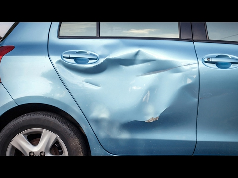 How To Fix a Dented Car
