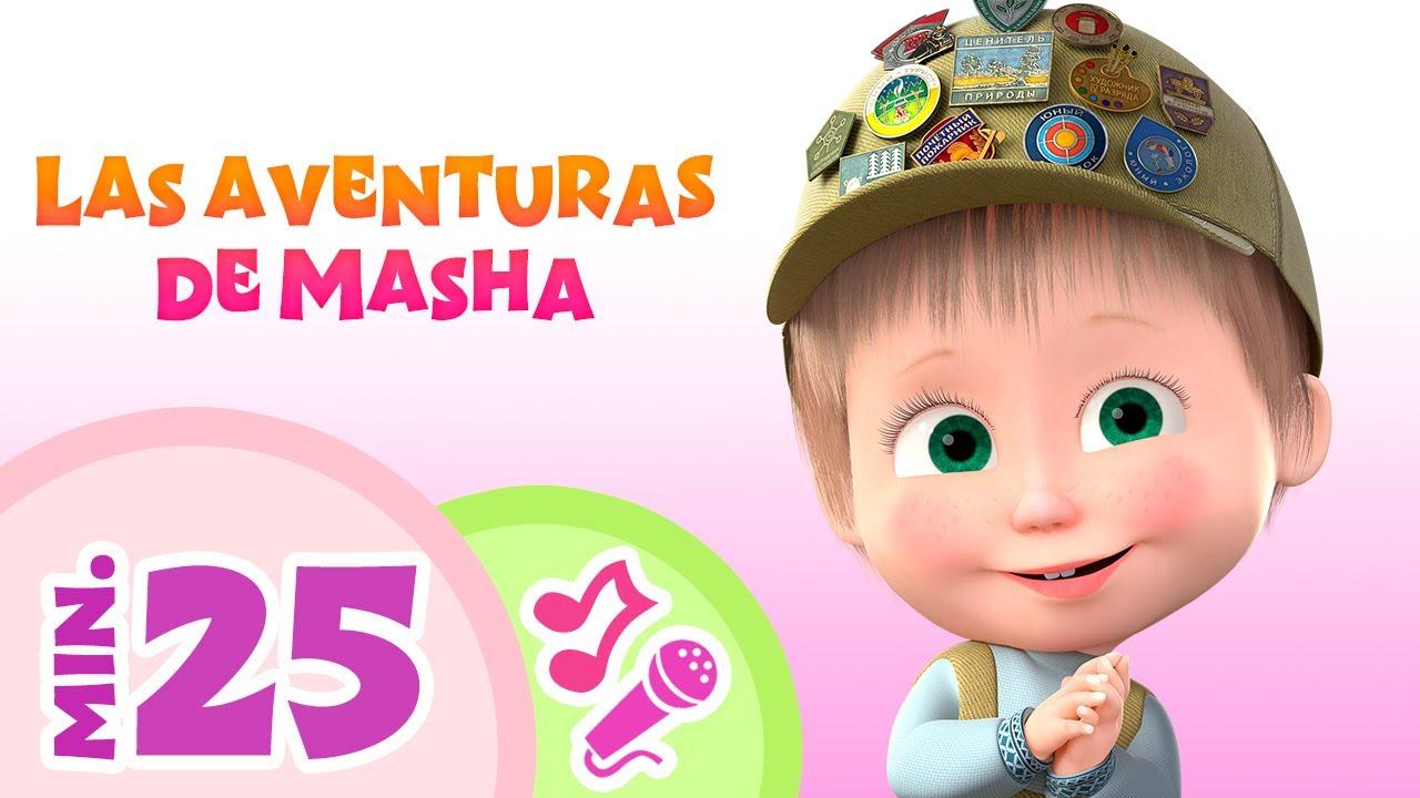 TaDaBoom Español 🐻👱♀️LAS AVENTURAS DE MASHA  👱♀️🐻 Canciones infantiles 🎶 Masha y el Oso