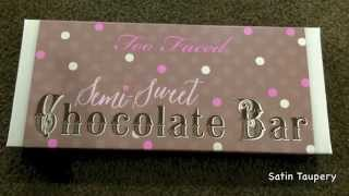 Too Faced Semi-Sweet Chocolate Bar Palette - First Impressions Overview Thumbnail