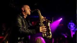 Nadir Simon vs. Yves Larock - Rise Up - Live Sax @ LAVO NYC