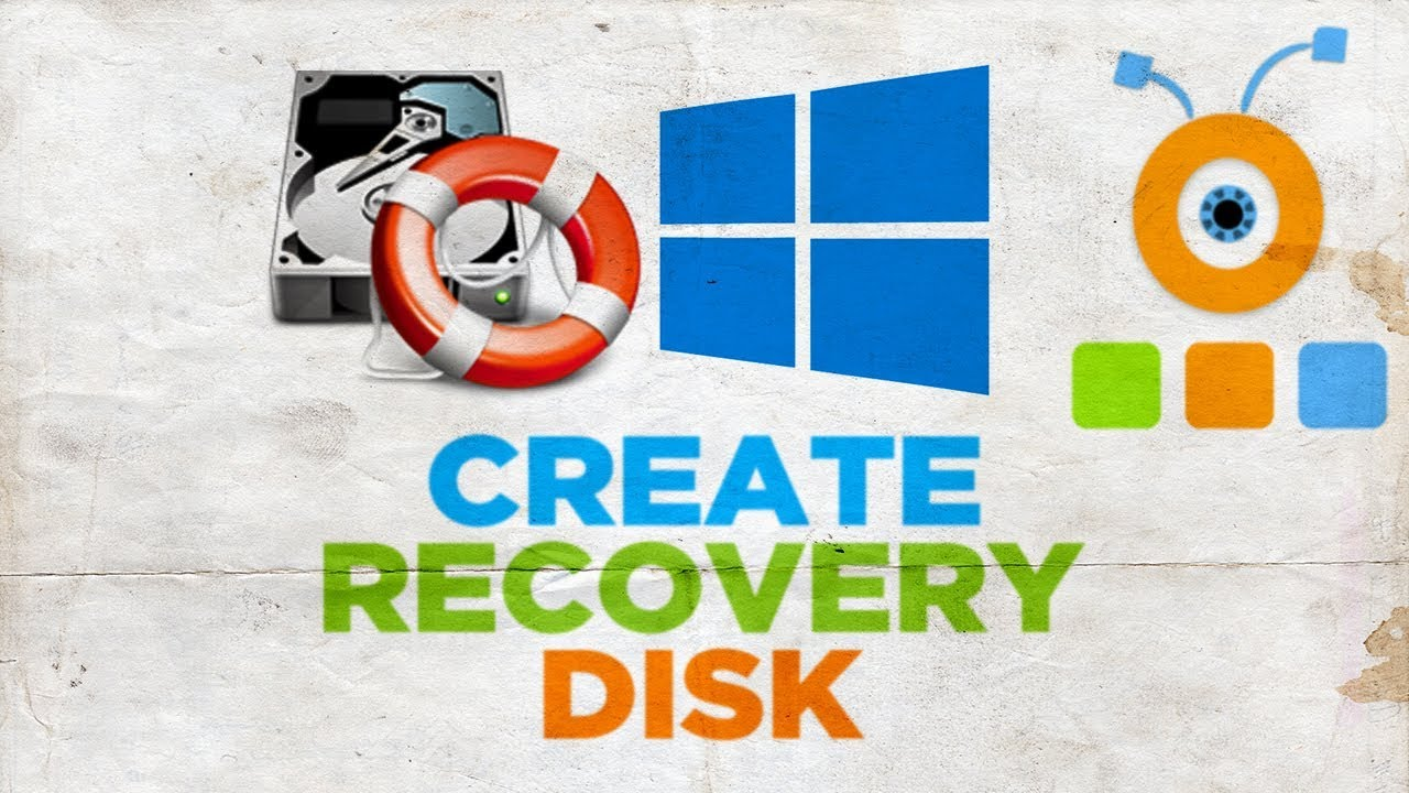 make a recovery disk windows