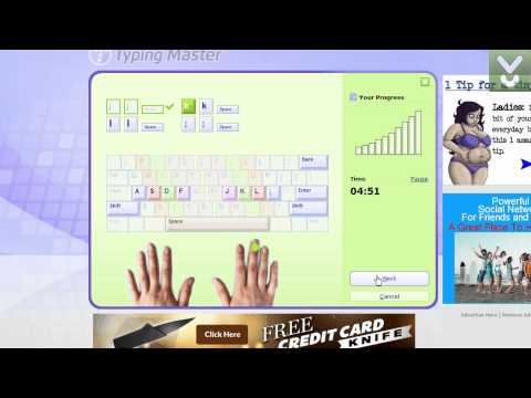 Typing Master 10 - Learn touch-typing effectively and quickly
