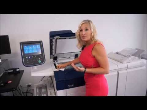 Xerox C60/70 - How to Clean Scanner Glass