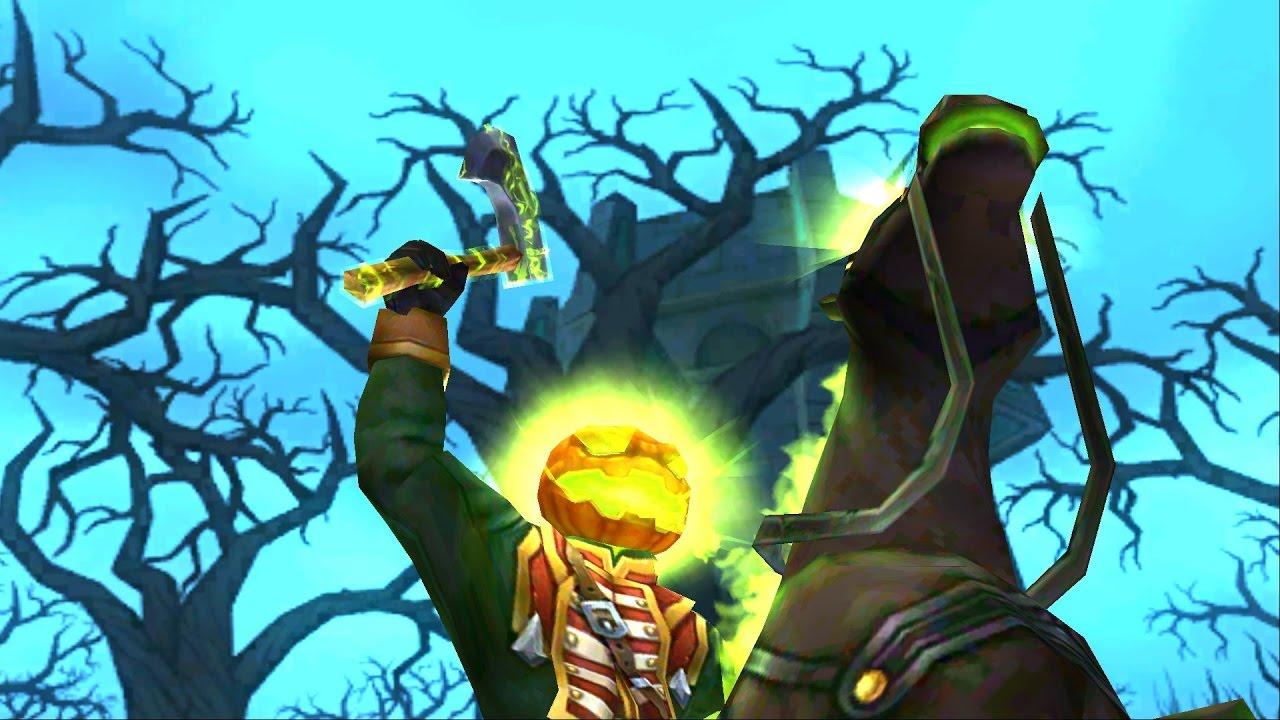 Wizard101: NEW Headless Horseman Death Spell