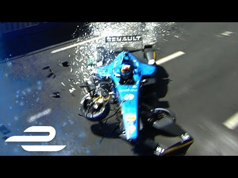HUGE Sébastien Buemi Crash In Montreal! - Formula E