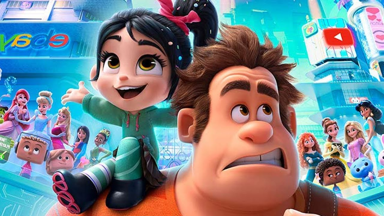 Ralph 2 - Best Funny Moments - Ralph breaks the Internet - YouTube