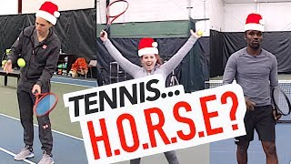 A Game of... Tennis HORSE??