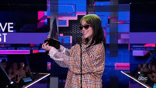 Billie Eilish Wins Favorite Artist - Alternative Rock at the 2019 AMAs - The American Music Awards