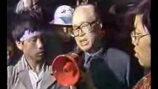 1989年8×8北京军管前夕紫阳赵在天安门广场的讲话