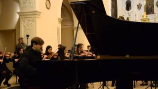 Mozart Piano Concerto n.24 K 491 (PART 1) Benedetto Boccuzzi Piano