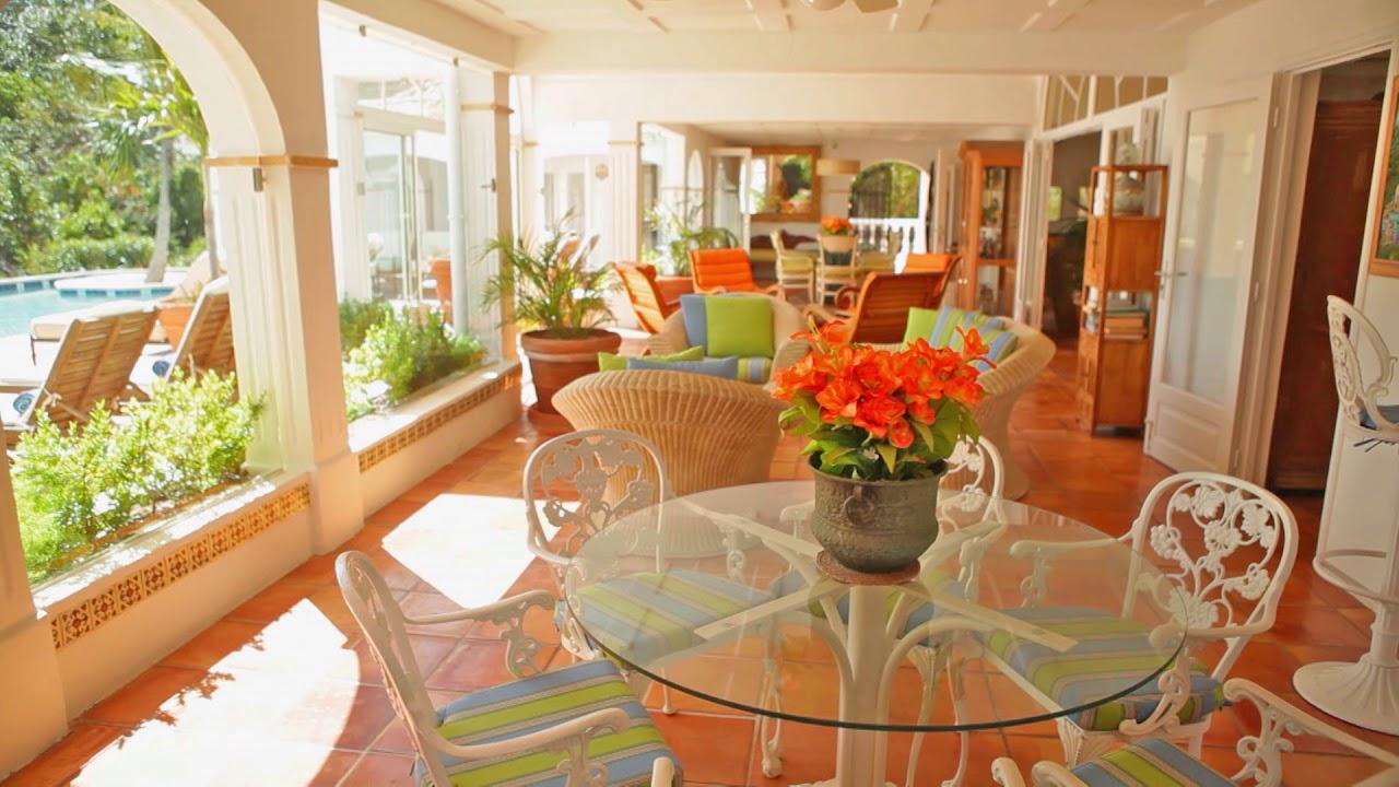 villa alizes - st. martin villa rentals - youtube