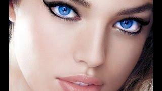 Макияж для голубых глаз дневной