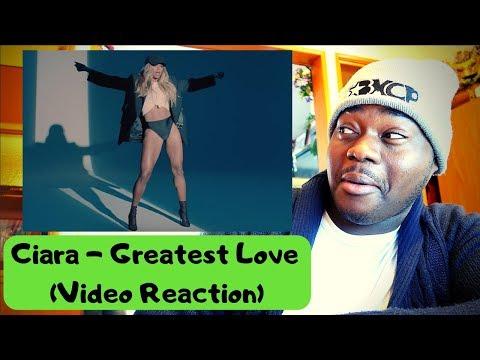 Ciara - Greatest Love (Video Reaction)