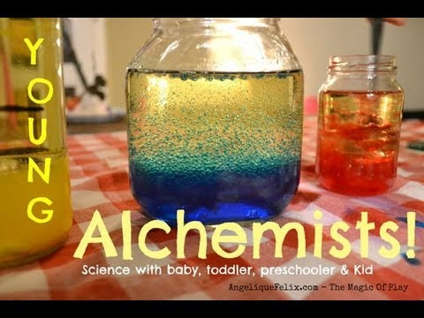 science projects for toddlers