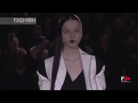 YOHJI YAMAMOTO Full Show Fall 2016 Paris Fashion Week by Fashion Channel