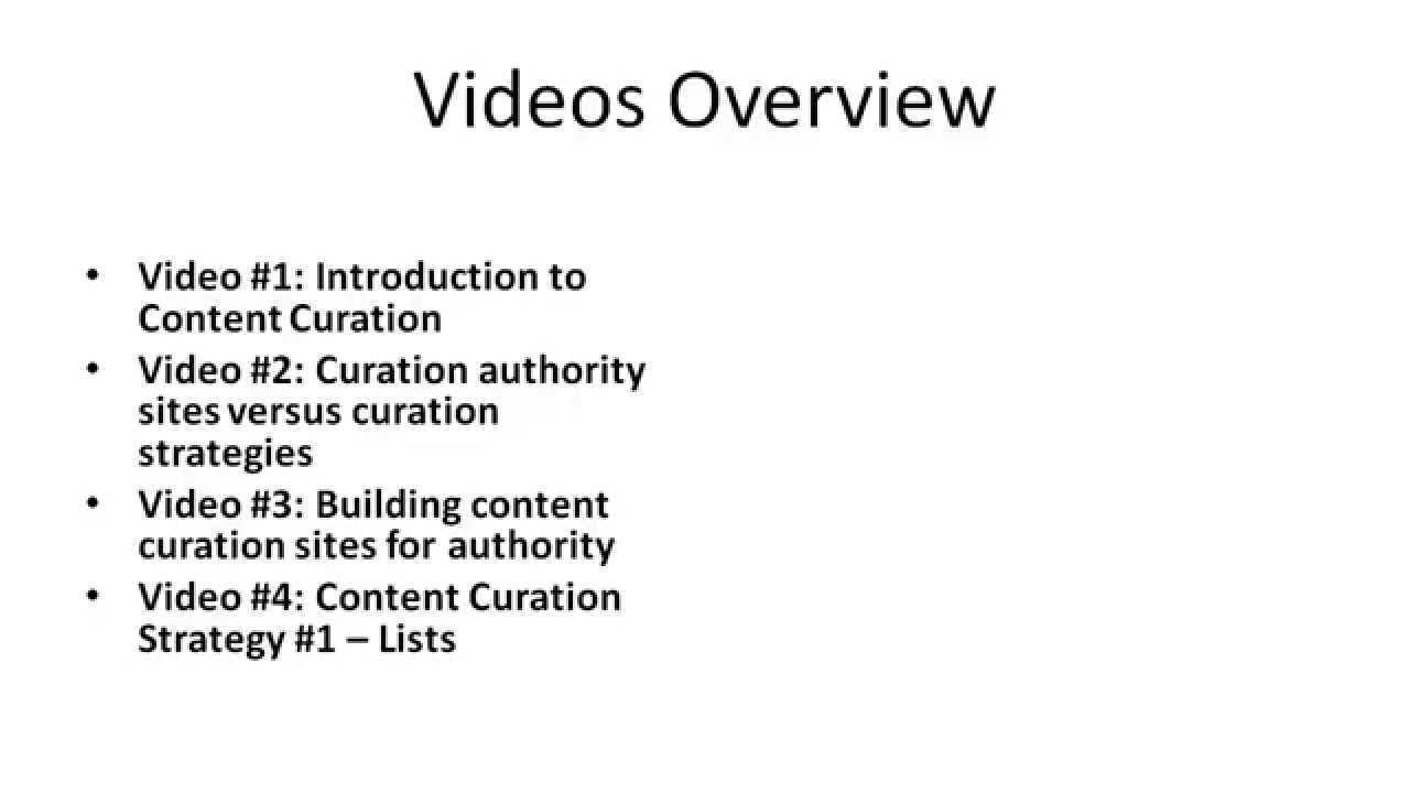 Curation profit blueprint how to curate content for profit youtube malvernweather Image collections