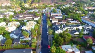 Santa Barbara Drone Flyover - DJI Phantom 4  - California