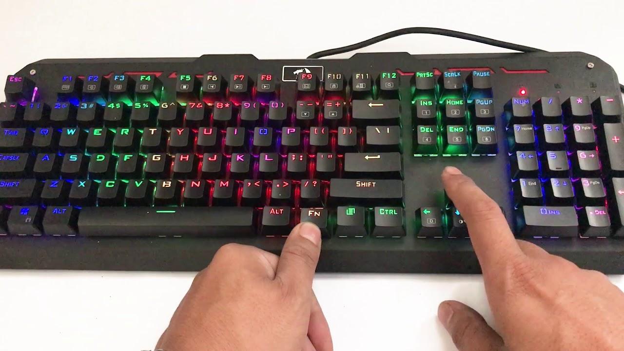 Bàn phím cơ Redragon Varuna K559 RGB dành cho game thủ