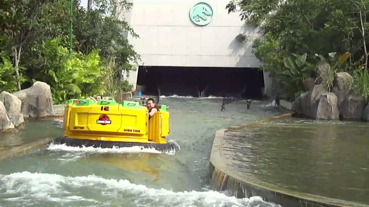 Splash Down Jurassic Park Rapids - Universal Studios ...