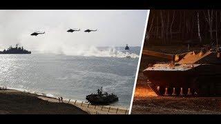 Russland lässt Armee aufmarschieren: Wladimir Putins Armee steht an der Grenze und übt Krieg